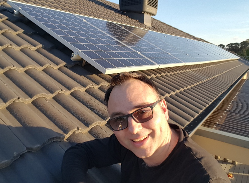 Gisborne solar MASH customer, Richard Polak