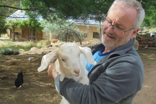 Cherries, goats and an off-grid life