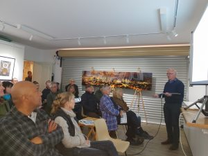 A full house at second Castlemaine home battery event!