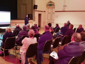 Good turnout at MASH Castlemaine Info Meetings