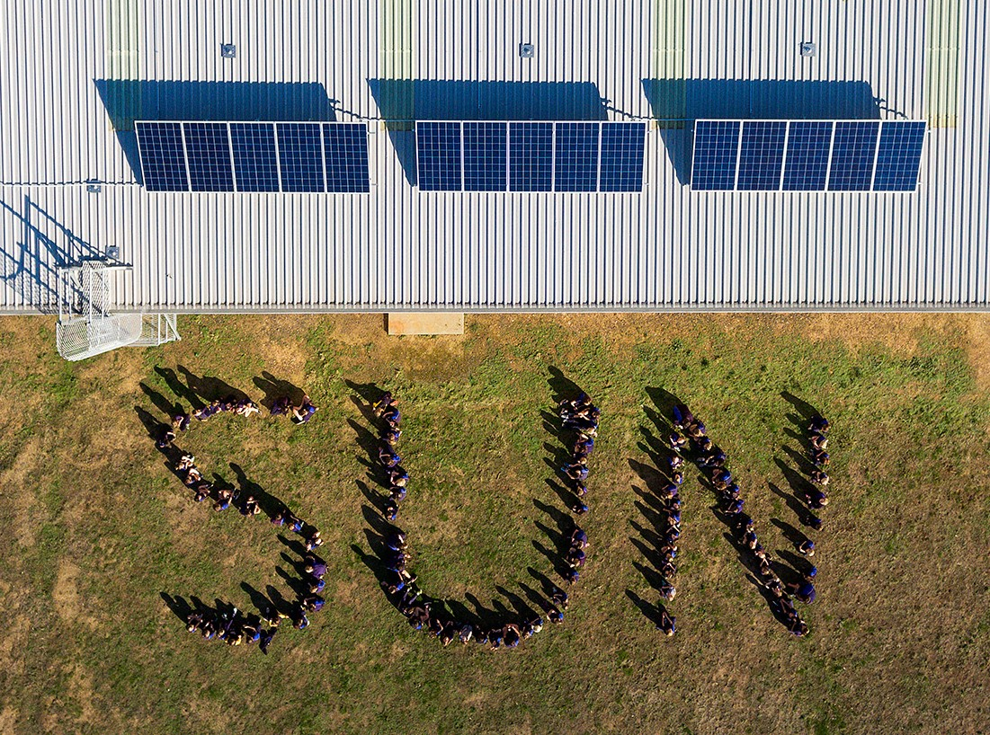MASH Solar Power System on Harcourt Valley Primary