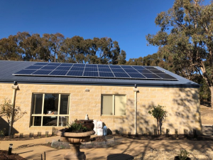 A MASH solar installation in Drummond, Hepburn Shire