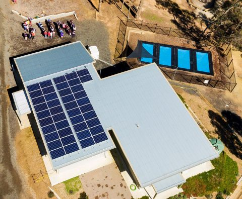 Doxa Youth Camp, Malmsbury, with its community bonus solar system through the Hepburn Solar Bulk-Buy