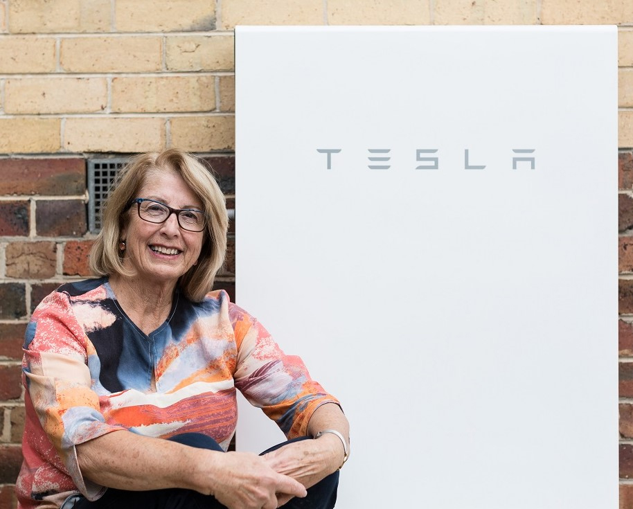 Bulk-buy participant and Tesla Powerwall 2 owner, Jo Maher